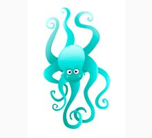 Funny blue octopus T-Shirt
