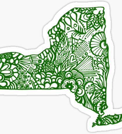 NewYork_Green Sticker