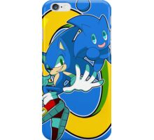 Sonic & Sonic Chao iPhone Case/Skin