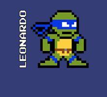 8-Bit TMNT- Leonardo Unisex T-Shirt