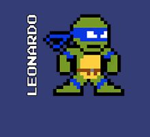 8-Bit TMNT- Leonardo T-Shirt