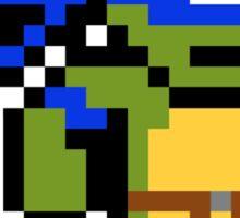 8-Bit TMNT- Leonardo Sticker