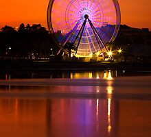 The Wheel - Geelong by Hans Kawitzki