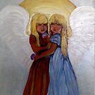 Twin angels by vickimec