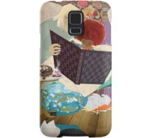 Thé et biscuits chez Mamy et Papy - Tea and biscuits at Grand-Ma and Grand-Pa Samsung Galaxy Case/Skin