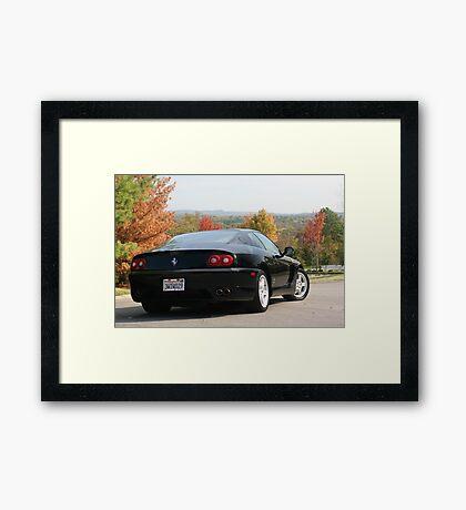RARE FERRARI 456 GTA 1997 2+2 450HP V12 Framed Print