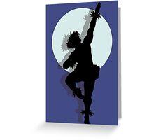 Hula dancer Greeting Card