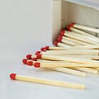 Pick up (match) sticks by Belinda Osgood