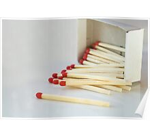 Pick up (match) sticks Poster