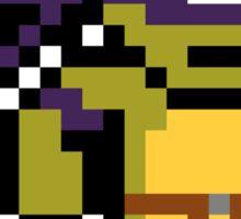 8-Bit TMNT- Donatello Sticker