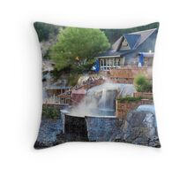 Pagosa Springs Hot Springs Throw Pillow