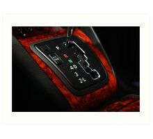 Lexus RX330 Shifter Plate, it just looked so GOOD Art Print