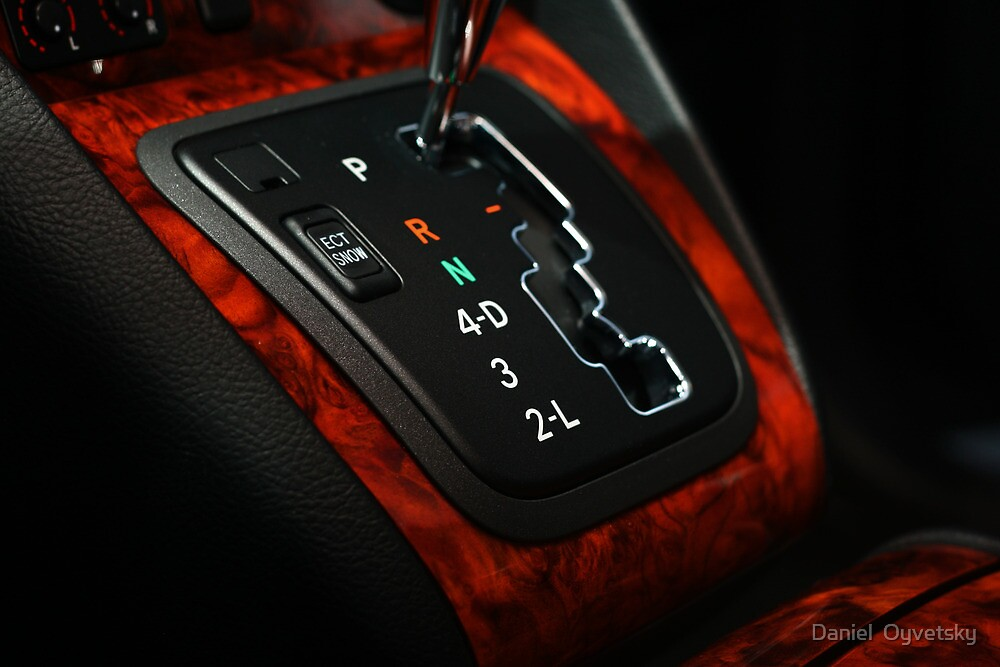 Lexus RX330 Shifter Plate, it just looked so GOOD by Daniel  Oyvetsky