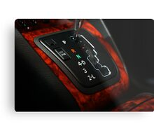 Lexus RX330 Shifter Plate, it just looked so GOOD Metal Print
