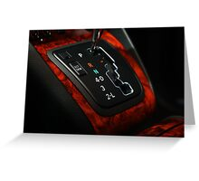 Lexus RX330 Shifter Plate, it just looked so GOOD Greeting Card