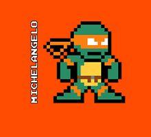 8-Bit TMNT- Michelangelo  Unisex T-Shirt
