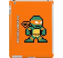 8-Bit TMNT- Michelangelo  iPad Case/Skin