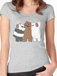 Bear Bros For Life Women's Fitted Scoop T-Shirt