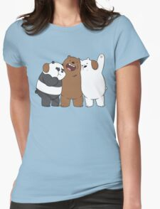 Bear Bros For Life Womens Fitted T-Shirt