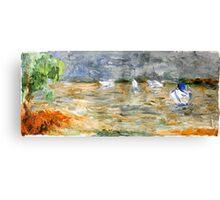 Noosa River before the storm. Canvas Print