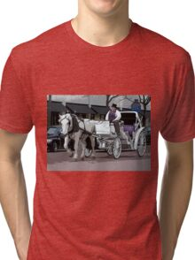 Indianapolis Carriage Driver Tri-blend T-Shirt