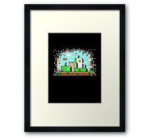 Glitch - Super Mario Bros. 3 Framed Print