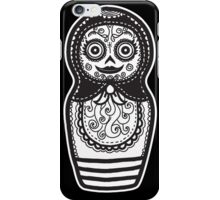 Day of the Dead Russian Doll iPhone Case/Skin