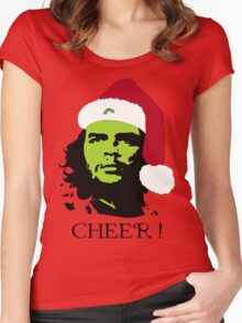 HOLIDAY CHE-ER grn ! Women's Fitted Scoop T-Shirt