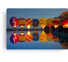 full of hot air Canvas Print
