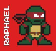 8-Bit TMNT- Raphael  by VashCrow