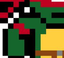 8-Bit TMNT- Raphael  Sticker
