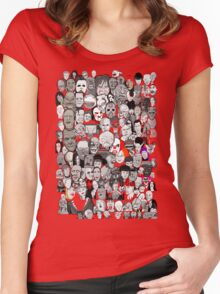 Titans of Horror Women's Fitted Scoop T-Shirt