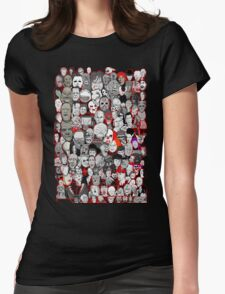 Titans of Horror Womens Fitted T-Shirt