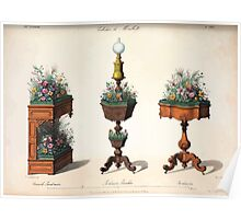 Le Garde Meuble Desire Guilmard 1839 0107 High Style Case Furniture Interior Design Poster