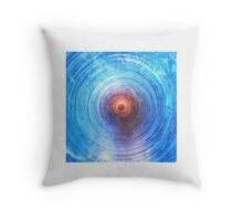 Ripple Echoes Throw Pillow