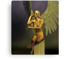 Angel Of Good Humour Canvas Print