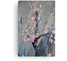 Tree in bloom zoomed part of the Gate Metal Print