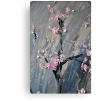 Tree in bloom zoomed part of the Gate Canvas Print
