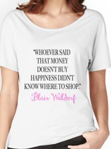 Money Doesn't Buy Happiness Women's Relaxed Fit T-Shirt