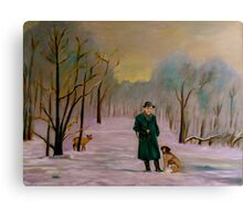Going hunting with Lux Canvas Print
