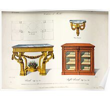 Le Garde Meuble Desire Guilmard 1839 0181 High Style Case Furniture Interior Design Poster