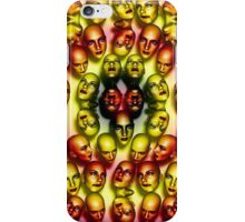 Bumble Bee Lady Faces Duvet iPhone Case/Skin