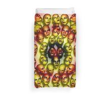Bumble Bee Lady Faces Duvet Duvet Cover