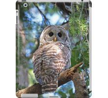Barred Owl Photograph iPad Case/Skin