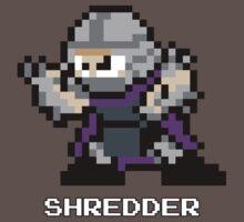 8-Bit TMNT Shredder One Piece - Short Sleeve