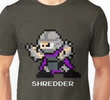 8-Bit TMNT Shredder Unisex T-Shirt