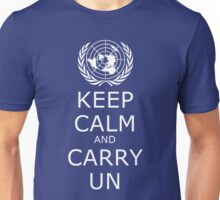 Keep Calm and Carry UN Unisex T-Shirt