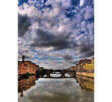 Florence Bridge Photographic Print