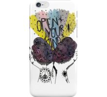 Open Your Mind iPhone Case/Skin