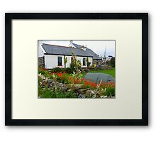 The Irish Hostel Framed Print
